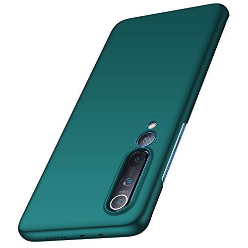 anccer Cover Xiaomi Mi 10 PRO 5G, [Alta qualità] [Ultra Slim] Anti-Scratch Hard PC Case Custodia per Xiaomi Mi 10 PRO 5G(Ghiaia Verde)