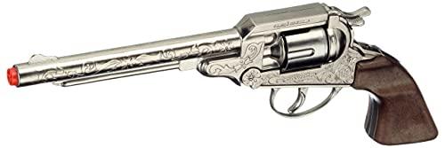 Gonher - Revolver Cowboy con 8 Disparos, Color Metal (88/0)