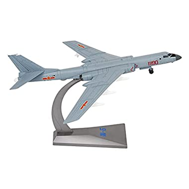 Almencla Creativity Diecast Fighter Jets Alloy Die Cast Plane 6K Bomber Fighter Toys for Boys, Air Force Decorations, 1…