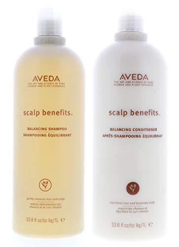 Aveda Scalp Benefits Balancing Shampoo and Conditioner Duo, 67.6 Fl Oz