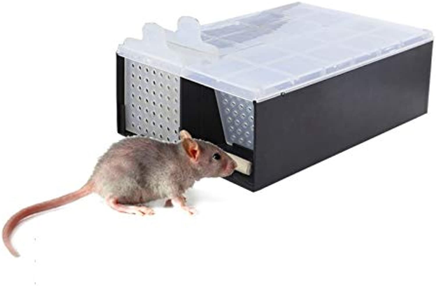 Home Mouse Trap Garden Humane Rat Trap Cage Mice Rodent Repeller Catch Bait Hamster Rat Trap