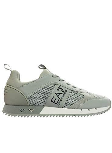 Emporio Armani EA7 - Scarpe da ginnastica, colore grigio, Grigio (Grigio), 40 EU