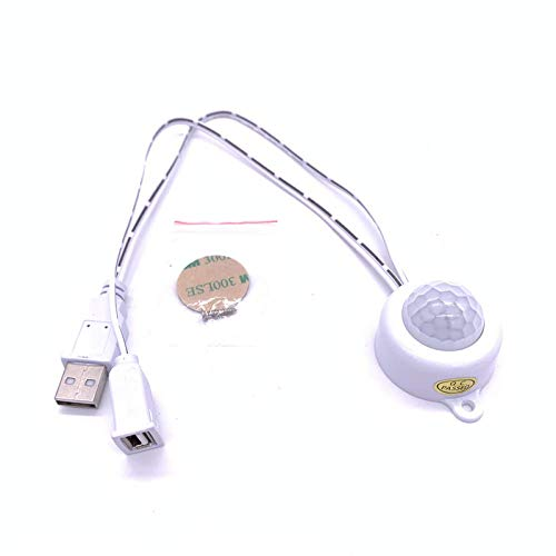 Dc 5-24 V/5 A met USB-stekker, schakelaar voor bewegingsmelder PIR A infrarood van het menselijk lichaam voor nachtlampje LED-strips Drop Ship