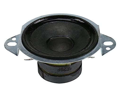 Wnuanjun 2 stücke Hochtöner Lautsprecher Einheit Tragbare 2-Zoll-Dreible-Lautsprecher für Home Audio DIY 8.OHM 10W Reparaturteile Dual Magnetic