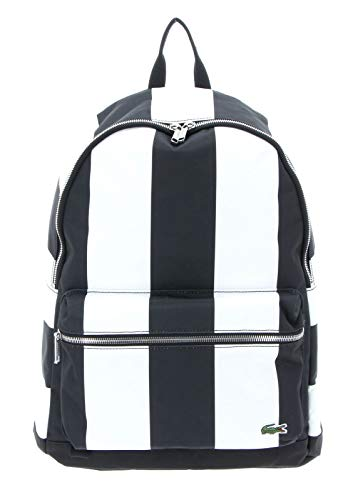 Lacoste Rel!ive Backpack Black White