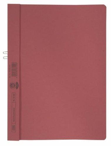 Klemmhandmappe, Karton, A4, Füllvermögen (Blatt) 10Blatt, 250g/qm, rot