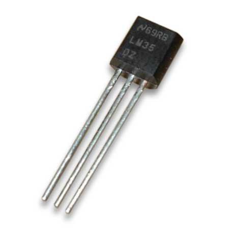 LM35DZ LM35 Temperatursensor 0...100°C Arduino Raspberry PI (0001)