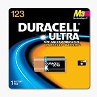 Duracell, Photo Electron Lithium Battery DL123AB - 3 V Each X 6 Packs