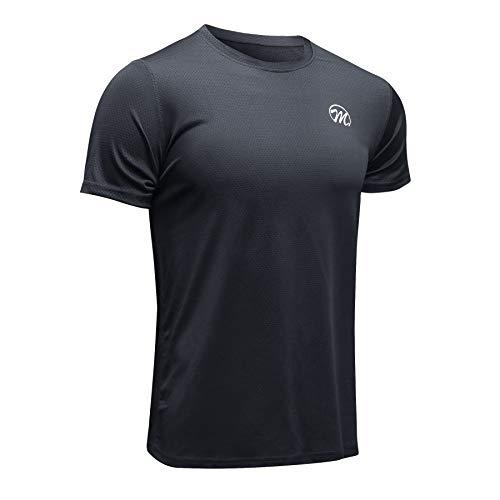 MEETWEE Deportes Camisetas Hombre,T-Shirt Manga Corta Camiseta Ropa Deportiva para Running Formación Gym Ciclismo