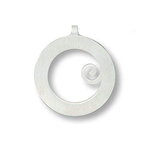 Filzis Anhänger Motiv kleine Spirale medium