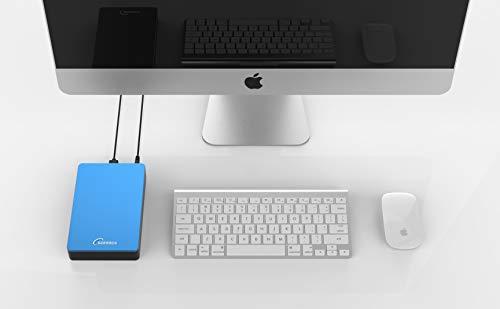 Sonnics Disco duro externo de 3 TB USB 3.0 para uso con Windows PC, Mac, Smart TV, Xbox One y PS4 miniatura