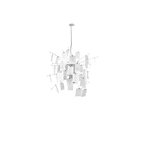 Ingo Maurer Zettel'z 6 lámpara de suspensión