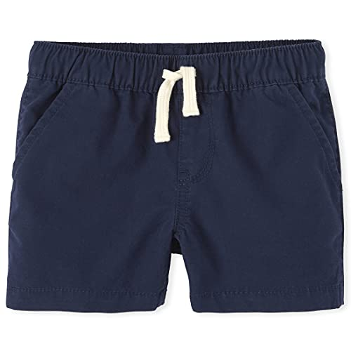 The Children's Place Baby Boys and Toddler Boys Pull On Jogger Shorts, Tidal, 2T