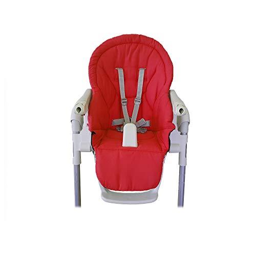 Aveanit Peg Perego Prima Pappa Zero 3 - Funda para trona de bebé, impermeable, color rojo