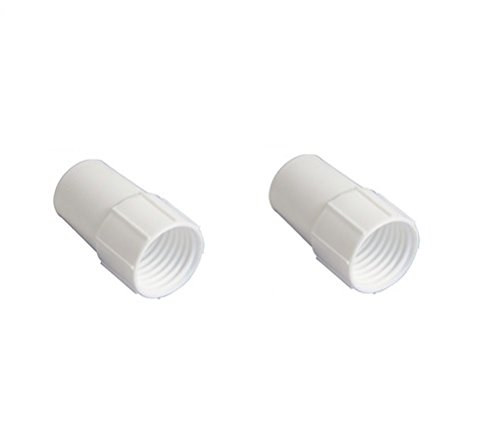 Southeastern New 2 Pack Swimming Pool Vacuum Hose Threaded Cuff Replacement 1-1/2