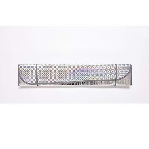 Z-W-Dong anti-uv-zonwering, autovoorruit, zonneklep, gemakkelijk op te lossen, geschikt voor ruiten in verschillende maten, verkrijgbaar in 3 kleuren