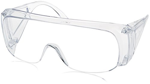 Howard Leight by Honeywell HL100 Series Shooting Glasses Clear Frame amp Lens R01701