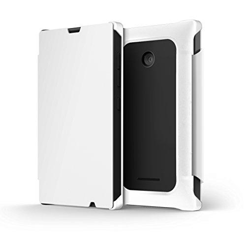 Nokia - flip Cover Blanc Pour Lumia 435