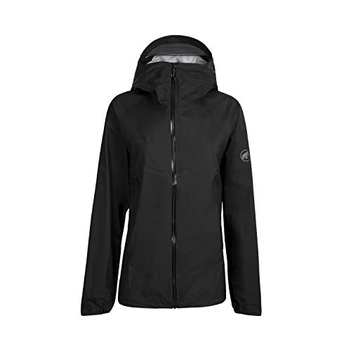 Mammut Herren Masao Light Hooded Hardshelljacke mit Kapuze, black-phantom, XL