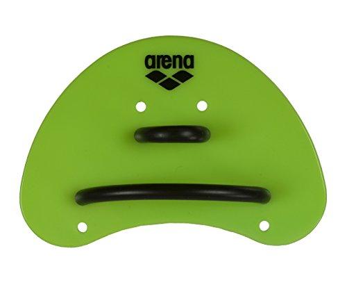arena Unisex Schwimm Wettkampf Trainingshilfe Finger Paddle Elite für Unterarm-Krafttraining, Acid Lime-Black (65), S