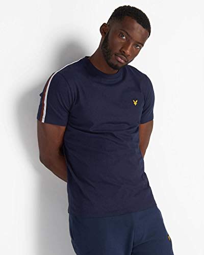 Lyle and Scott Taped T-Shirt Herren dunkelblau, S