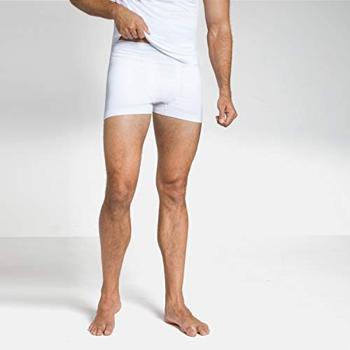 Odlo Suw Performance Light Boxer pour Homme XXL Blanc