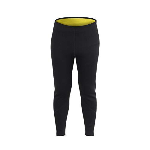 Alomejor Sauna Legging Hosen Neopren Heiß Schweiß Körper Männer Frauen für Fitness Sport(L)