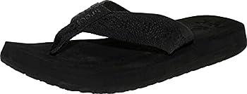 Reef Women s Sandy Sandals Black/Black 8