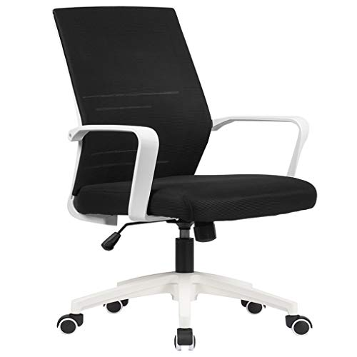 XYF Computer Desk Chair For Swivel,Mesh Office Chair For Breathable Computer,Mid Back Computer Chair For Home Office,Easy To Clean And Easy To Install Load 330 Lbs