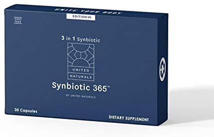 United Naturals - Synbiotic 365 30ct. - Advanced Probiotic Formula