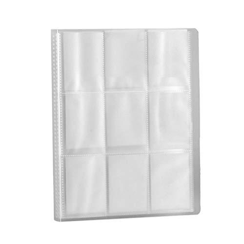288 Taschen Sammelkarten-Hüllen, transparente Hüllen für Albumseiten, Sammelhüllen für Visitenkarten, Baseballkarten, Spielkarten, Fotoalbum-Kartenhalter, farblos, 29.3x22.5x2.5cm