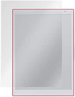 電子ペーパー QUADERNO (クアデルノ) A4サイズ FMV-DPP03 / 電子ペーパーP01 (FMV-DPP01) 用 日本製 指紋が目立たない 反射防止液晶保護フィルム OverLay Plus OLFMVDPP01/1
