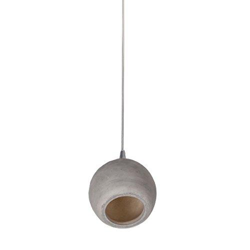 Vandeheg® LED Pendelleuchte CIELO 1L Beton grau Ø19x12cm H119cm 3Watt