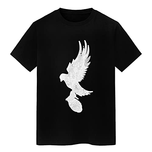 summerator Men's Graphic Tees - Hollywood Undead T Shirts for Men Black Small