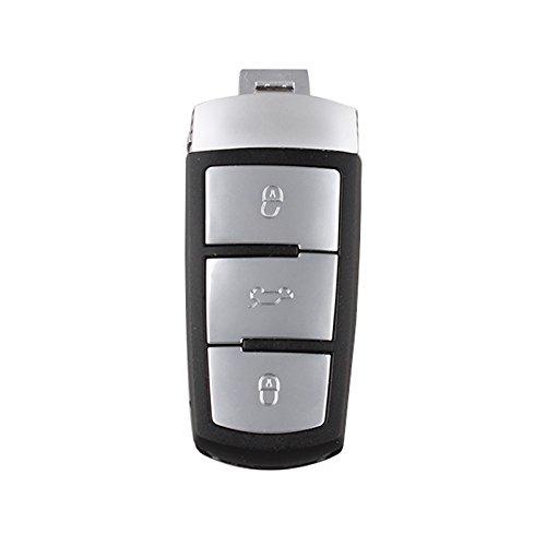 SODIAL 3C0 959 752 BA Smart Schluessel 3Button 434Mhz mit ID48 Chip Fuer VW Passat B6 3C B7 Magotan CC Keyless Fernbedienung 752BA kigoauto