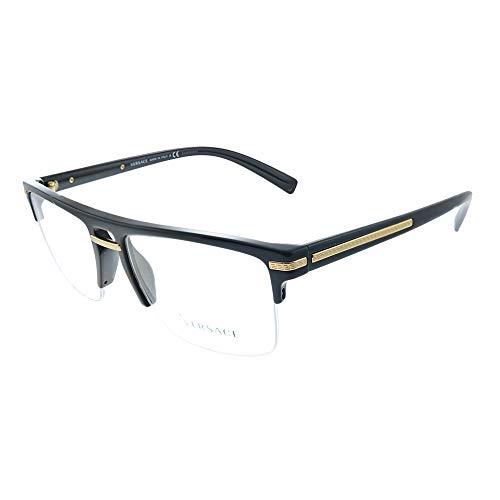 Versace 0VE3269 Monturas de gafas, Black, 55 para Hombre