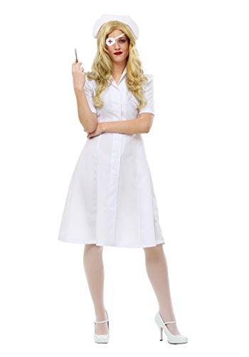 Kill Bill Elle Driver Nurse Womens Fancy dress costume Small