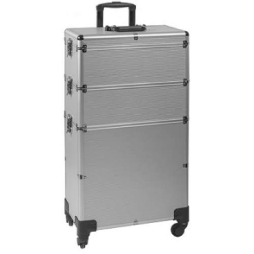 Valise trolley esthétique coiffure Silver