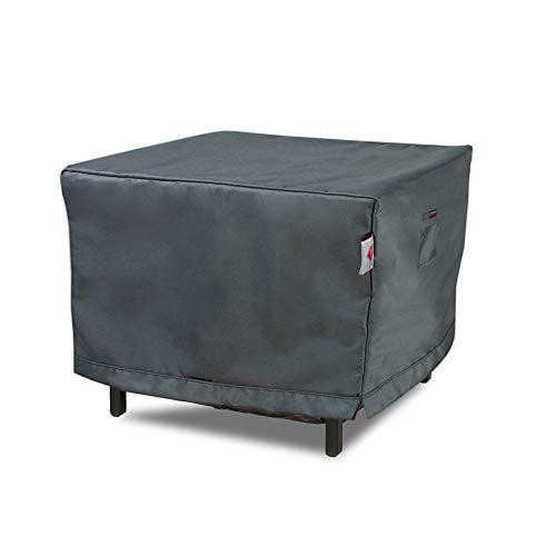 Shield Titanium - Manteles Cuadrados, 3 Capas, Resistentes a los Rayos UV, Color Gris Oscuro