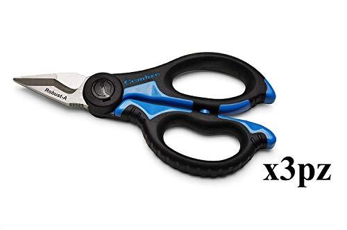 lote paquete de 3unidades cembre SC5X tijeras para electricista Profesional cuchillas de acero templado