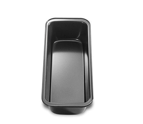 Küchenprofi 0810221030 Bake One Kastenform 30 cm, Hochwertiges Stahlblech, schwarz, 30 x 11 x 6.5 cm