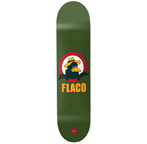 Chocolade Perez Flacrow One Off Skateboard Deck - 8.375