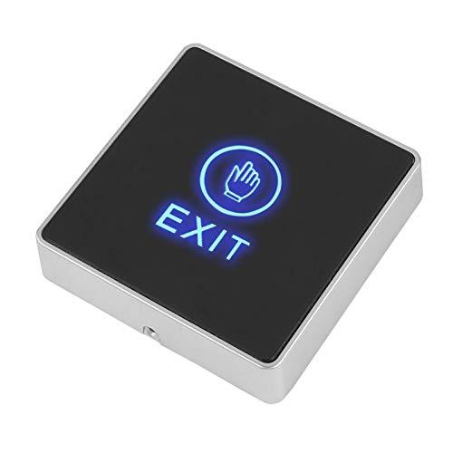 Práctico interruptor de puerta sensible con botón pulsador de alta respuesta con estilo elegante, para marco de puerta estrecho