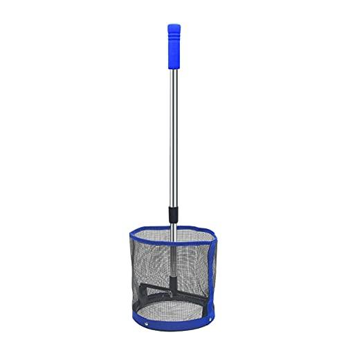 GeKLok Pingpong Ball Retriever, bolsa de red para recoger pelotas de tenis de mesa, contenedor de entrenamiento para recoger y almacenar pelotas