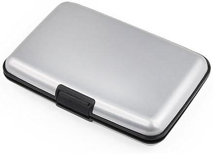 fhouses alumthe Aluminium silber wthellet Kredit ctherd Halter RFID-blockierender : B�robedarf & Schreibwaren