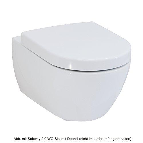 Villeroy und Boch Subway 2.0 Wand-Tiefspül-WC, spülrandlos DirectFlush, weiß, 5614R001 - 2