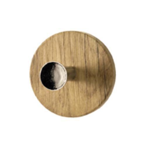 Haku Garderobenknopf Menge:8 Stück, wildeiche, 42186