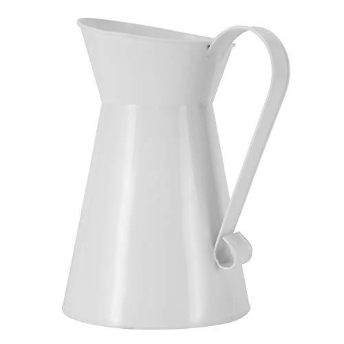 LQNB Vintage Hoch Ramponiert Einzigartig Sahne Vase Emaille Krug Krug Hochzeit Wohn Kultur