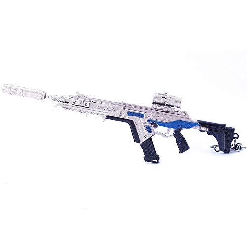 MANHUAN Apex Legend Jeu Modèle Peacekeeper Pistolet Métal jouet 1/6 poignard Pistolet auxiliar convertisseur VK47 Porta-clés Cadeau à collectionner (R301)
