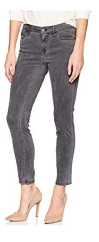 Calvin Klein Jeans Women's Ankle Skinny Pants - Grey Pinstripe - Size 2